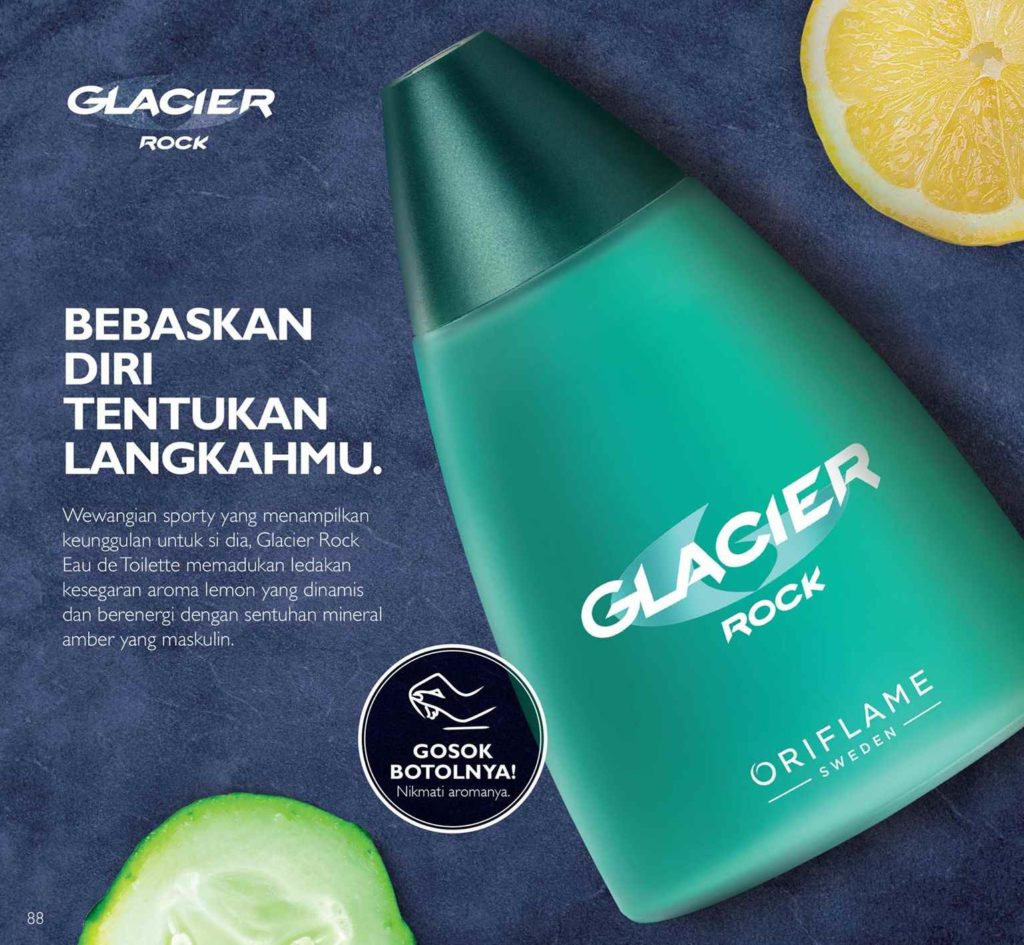 Parfum Cowok Glacier Rock Diskon 40% [April 2018]