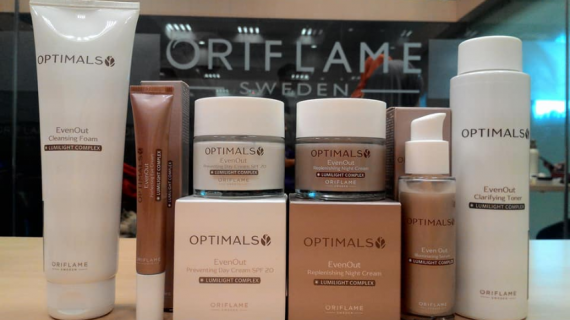 Review Optimals Even Out Set Oriflame